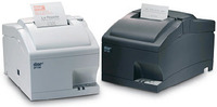 Star SP742 Serial Impact Cutter Receipt Printer Charcoal image