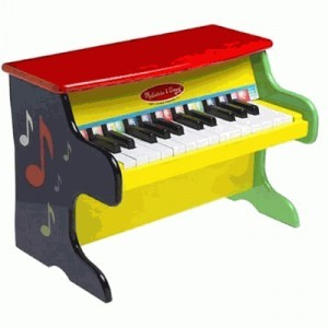 Learn to Play Wooden Piano - Melissa & Doug image