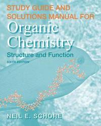 Study Guide and Solutions Manual for Organic Chemistry by K.Peter C. Vollhardt image
