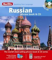 Russian Berlitz Phrase Book and CD image