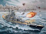 Revell 1:350 Battleship Bismarck Platinum Edition Model Kit