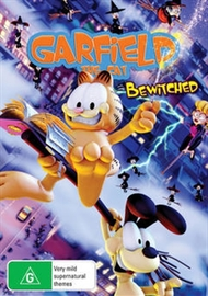 Garfield the Cat: Bewitched on DVD