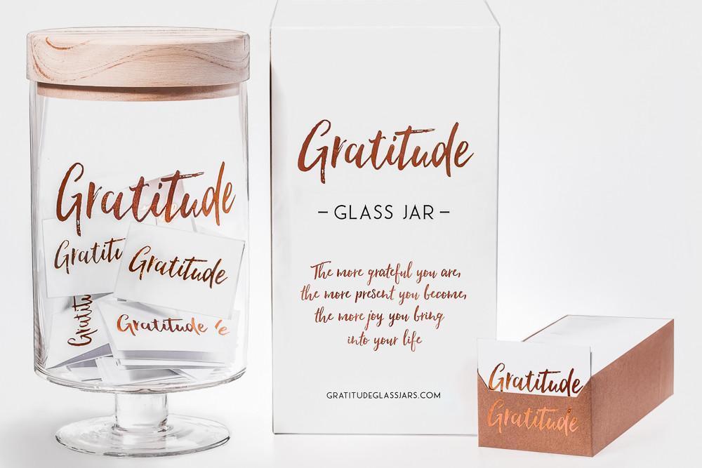 Gratitude Glass Jar image