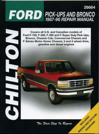 Ford Pick-ups and Bronco (1987-96) by Chilton Automotive Books image