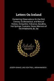 Letters on Iceland by Joseph Banks image