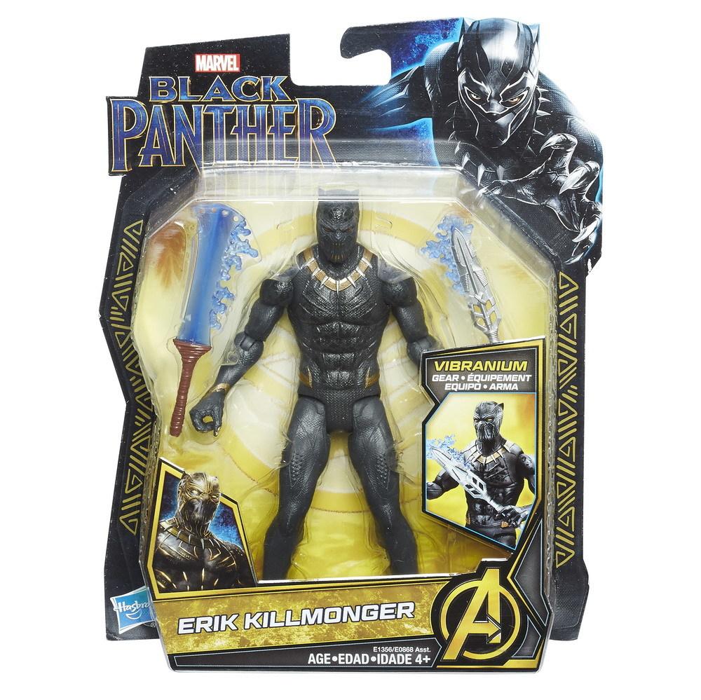 "Marvel's Black Panther: Erik Killmonger - 6"" Action Figure image"