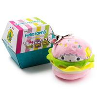 Hello Sanrio: Plush Burger - Collectable Charms (Blind Box)