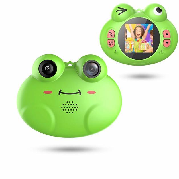 Kids Digital Camera Frog design
