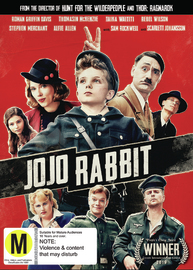 Jojo Rabbit on DVD image