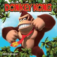Donkey Kong 2021 Square Wall Calendar