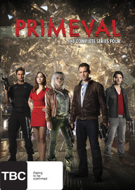 Primeval - Series 4 on DVD