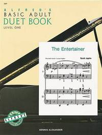 Alfred's Basic Adult Piano Course Duet Book, Bk 1 by Dennis Alexander