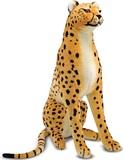 Cheetah Giant Stuffed Animal Plush - Melissa & Doug