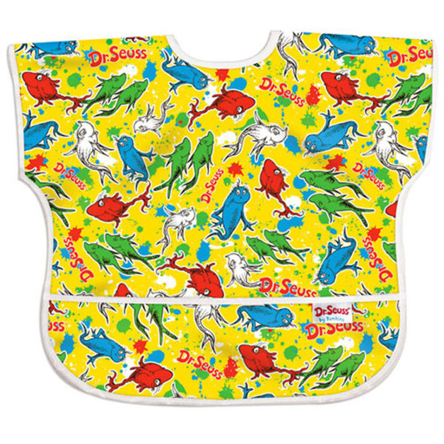 Dr Seuss Junior Bib - Fish