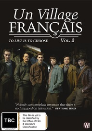 Un Village Francais - Vol. 2 on DVD