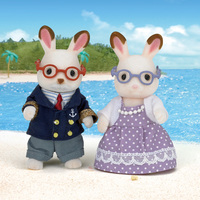 Sylvanian Families: Chocolate Rabbit Grandparents