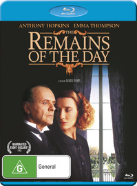 The Remains Of The Day on Blu-ray