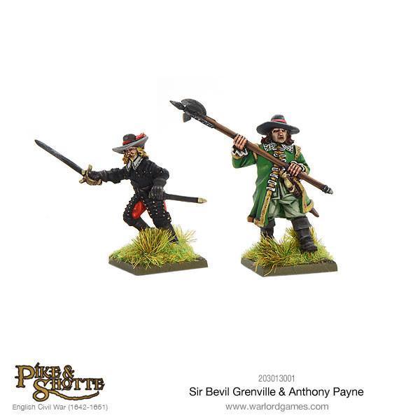Sir Bevill Grenville & Anthony Payne image