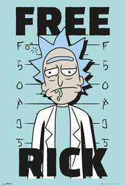 Rick And Morty: Free Rick - Maxi Poster (654)