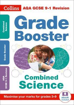 AQA GCSE Combined Science Trilogy Grade Booster for grades 3-9 by Collins GCSE image
