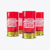 12 Gauge Shot Glass - by Mustard (Set of 4)