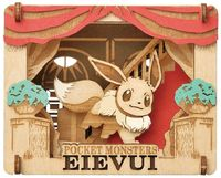 Pokemon Paper Theater With Eevee