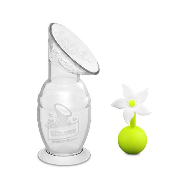Haakaa: Silicone Breast Pump & Flower Stopper Gift Box Set (150ml)