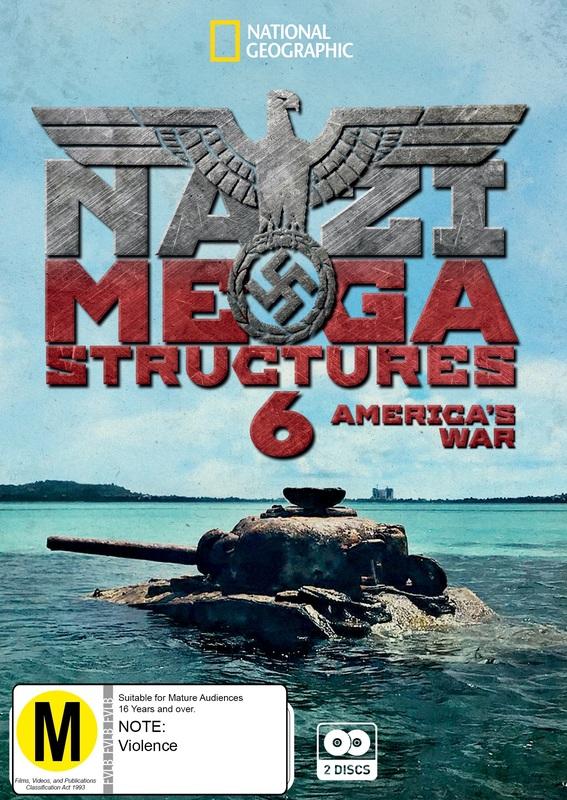 Nazi Megastructures 6 - America's War on DVD