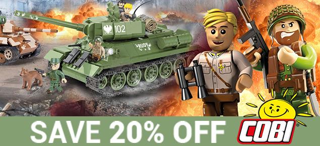 20% off Cobi!