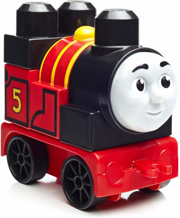 Mega Bloks: Thomas & Friends Buildable Engine - James