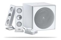 Logitech 2.1 Z4 Speaker System - White image