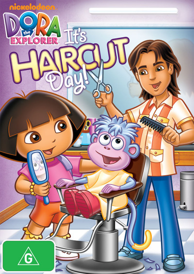 Dora the Explorer: It's Haircut Day on DVD image