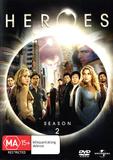 Heroes - Season 2 on DVD
