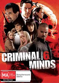 Criminal Minds - Season 6 on DVD