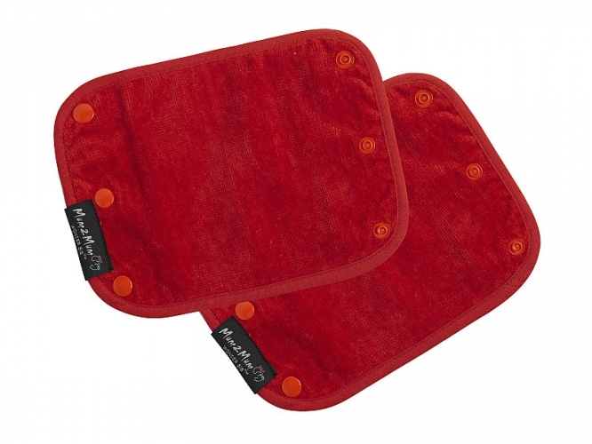 Mum 2 Mum Strap Cover Sucking Guard - Red image