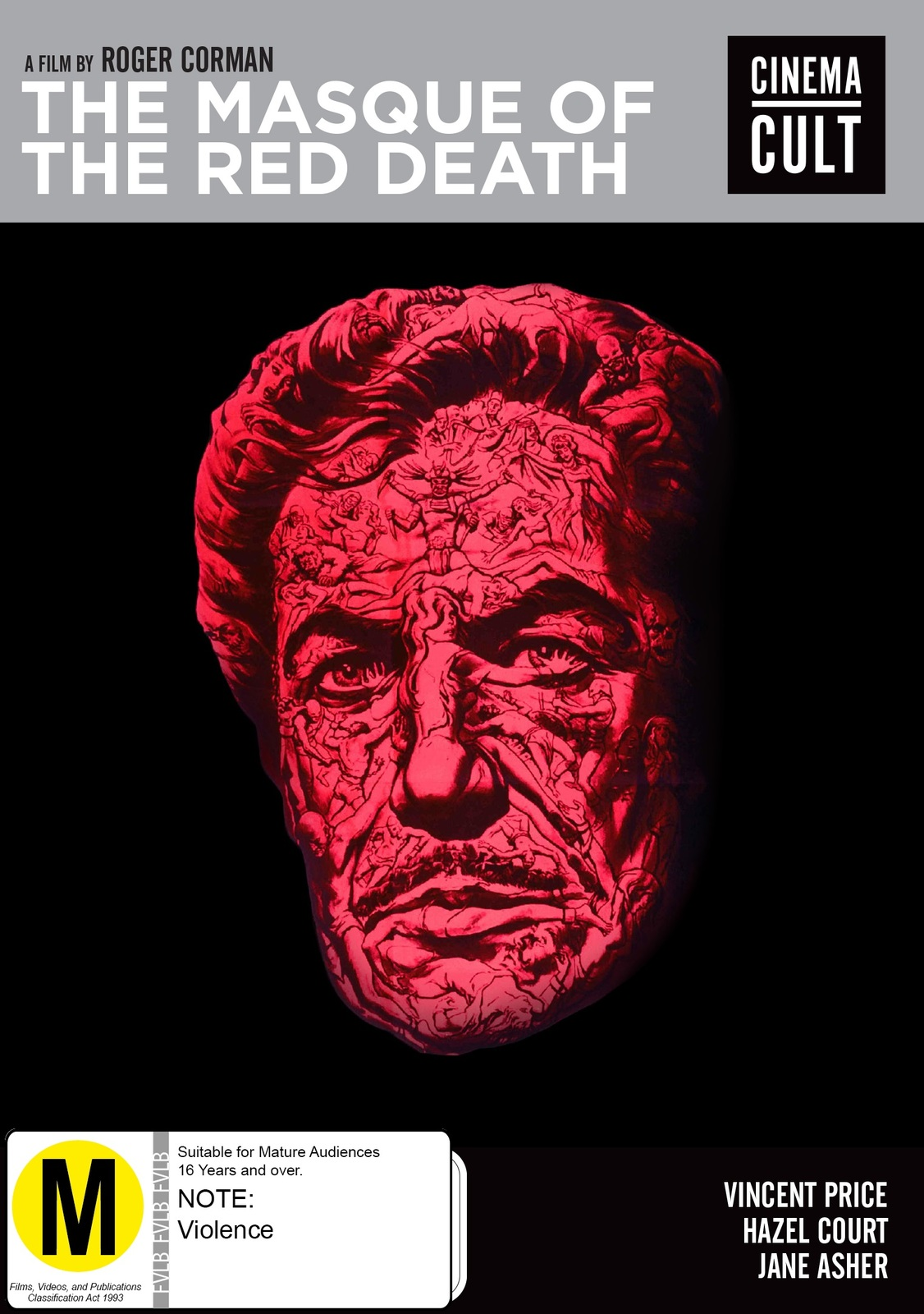 Masque Of The Red Death on DVD image