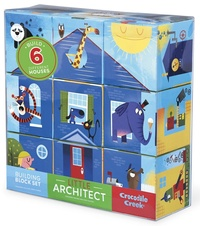 Crocodile Creek: Little Architect Block Set - Boys