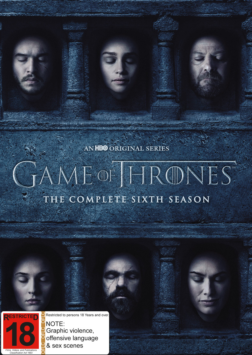 Game of Thrones - The Complete Season Six on DVD image