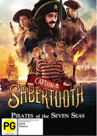 Captain Sabertooth on DVD