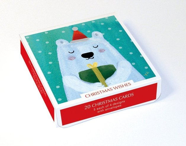 Museums & Galleries: Christmas Wishes - Greeting Card Set (20-Pack)