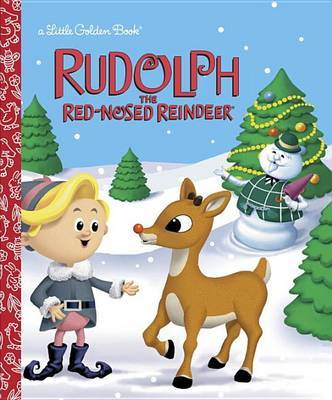 LGB Rudolph The Red-Nosed Reindeer by Golden Books