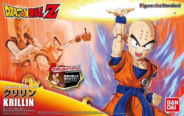 Dragon Ball: Figure-rise: Krillin - Model Kit