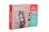 Moose Step on up Toilet Trainer-Aqua/Red image
