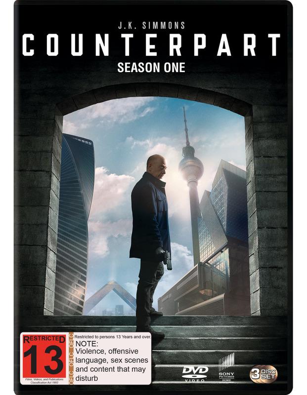 Counterpart: Season 1 on DVD