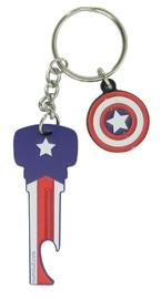 Marvel: Captain America Key - Bottle Opener (Keyring/Keychain)