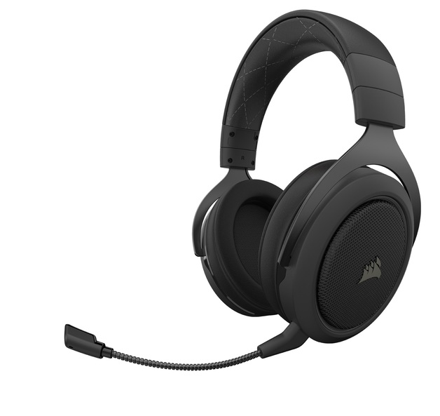Corsair HS70 Pro Wireless Gaming Headset (Carbon) for PC