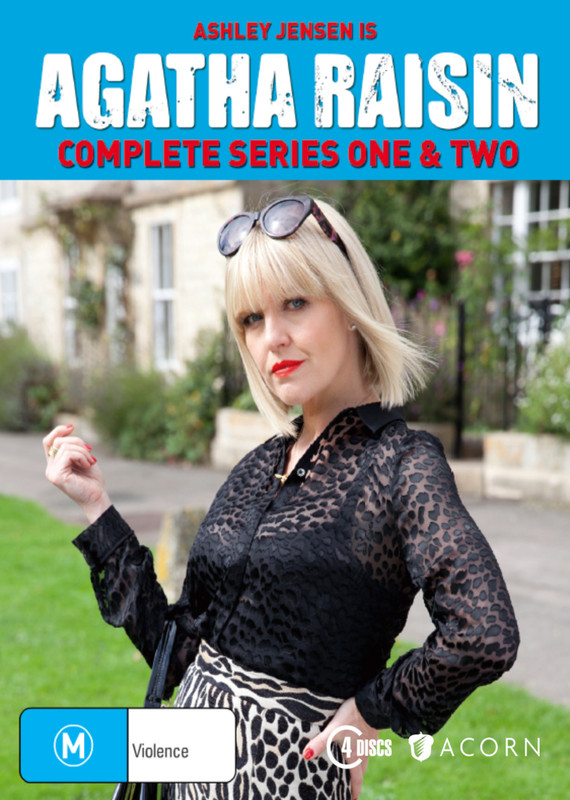 Agatha Raisin - Complete Series One & Two on DVD
