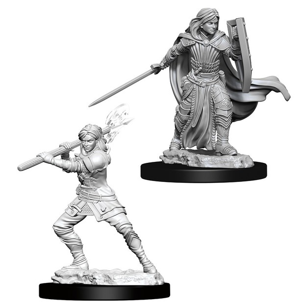 D&D Nolzur's Marvelous: Unpainted Miniatures - Female Human Paladin