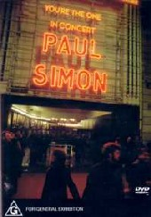 Paul Simon - You're The One on DVD