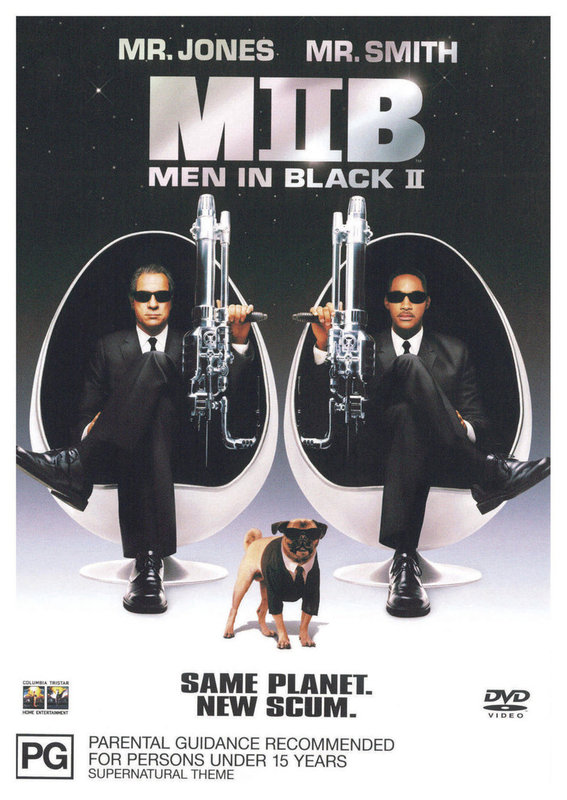 Men In Black II on DVD